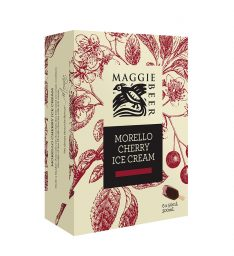 Morello Cherry Ice Cream Sticks