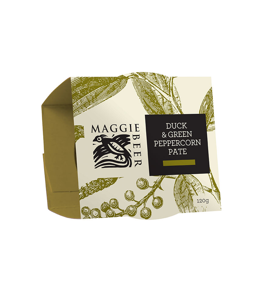 Duck Green Peppercorn Pate Shop Online Maggie Beer