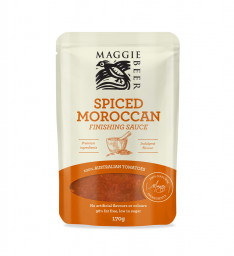 Spiced Moroccan Finishing Sauce