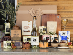 Everything But The Cheese with Sparkling Chardonnay Hamper