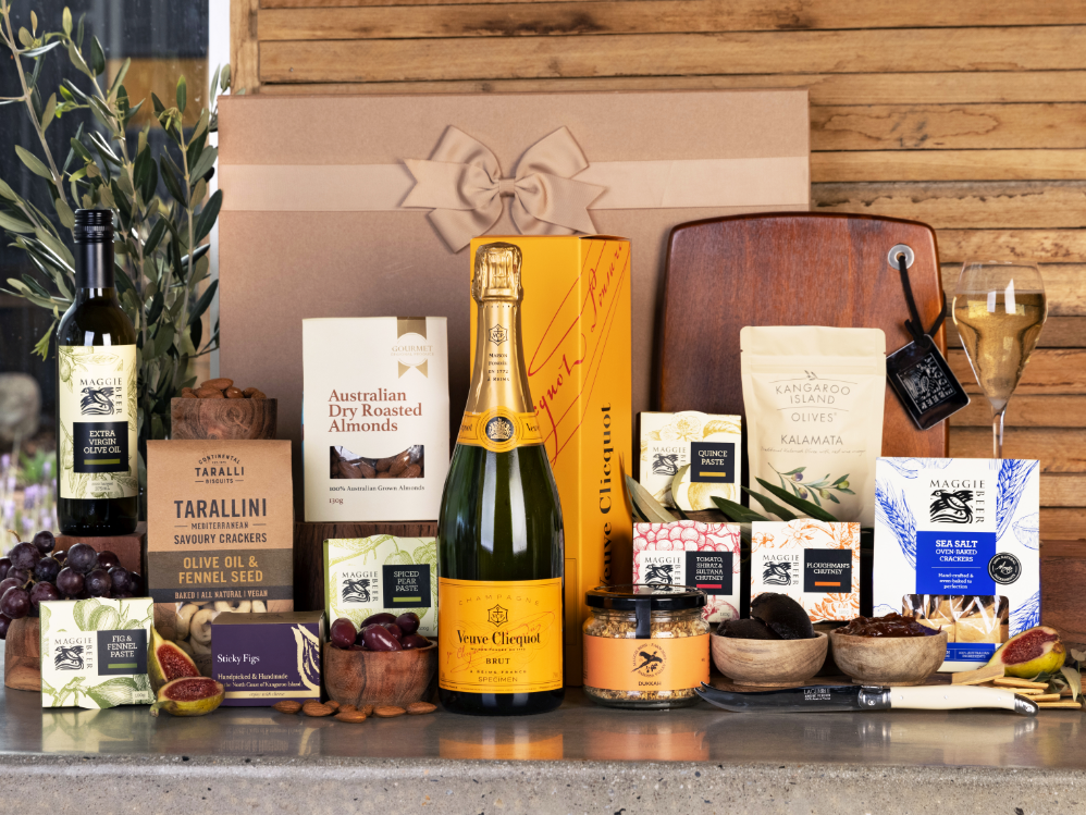 Everything But The Cheese with Clicquot Hamper