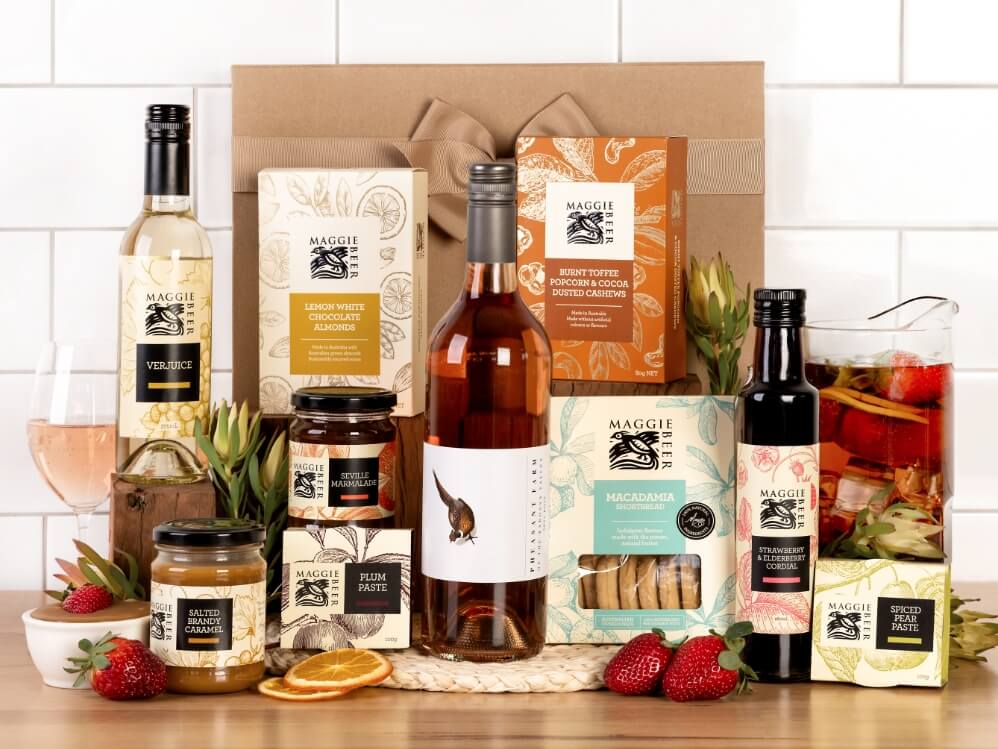 Family Gatherings with Rosé Hamper