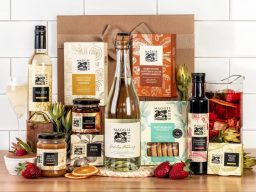 Family Gatherings with Sparkling Chardonnay Hamper
