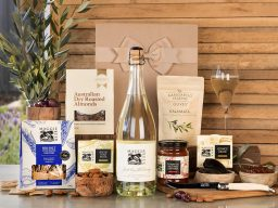 Just Add Cheese with Sparkling Chardonnay Hamper