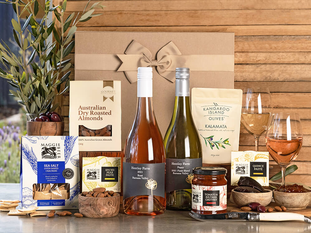 Just Add Cheese with Barossa White & Rosé Hamper