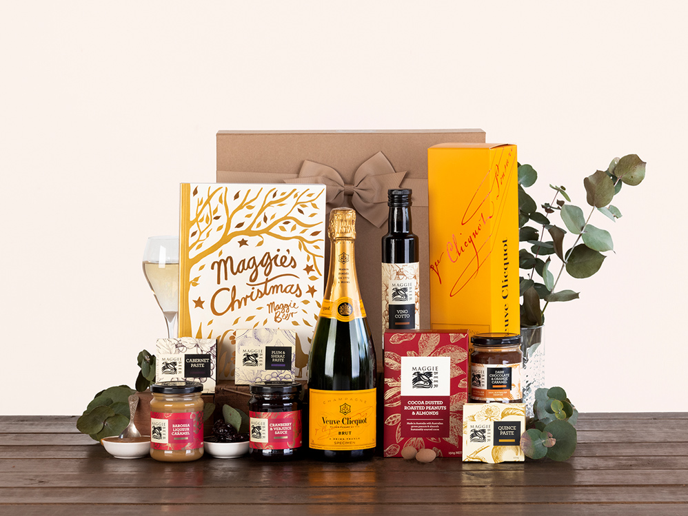 Maggie's Christmas Hamper with Veuve Clicquot