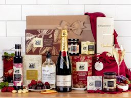 With Love and Moët Hamper