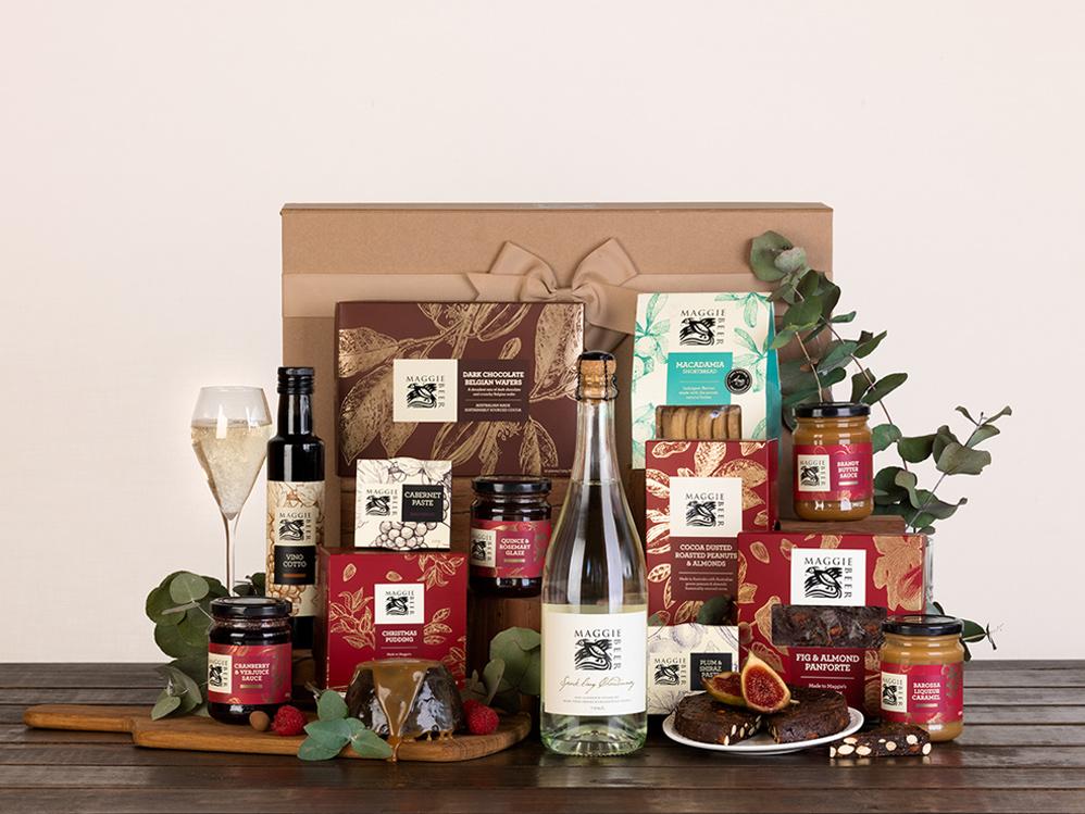 Yuletide Cheer Christmas Hamper with Sparkling Chardonnay